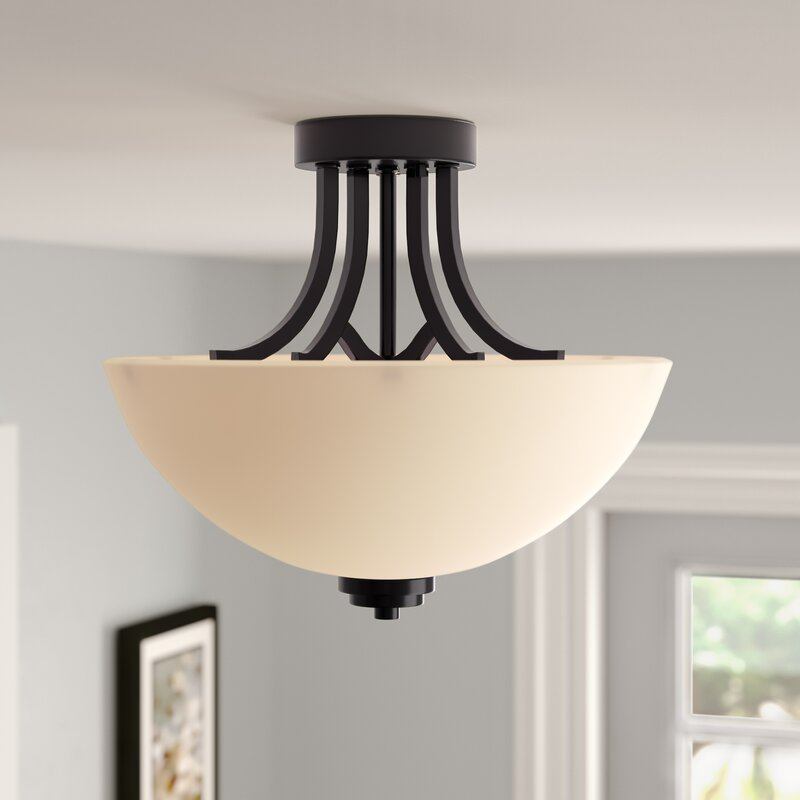 Casias 3-Light Semi-Flush Mount