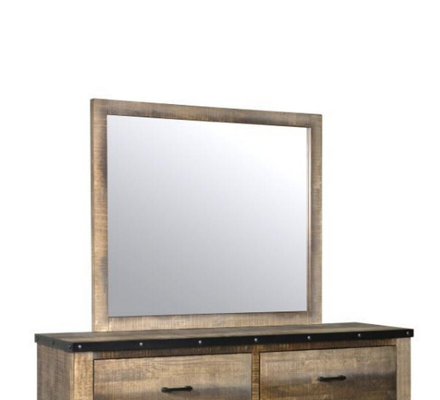 Zager Rectangular Dresser Mirror