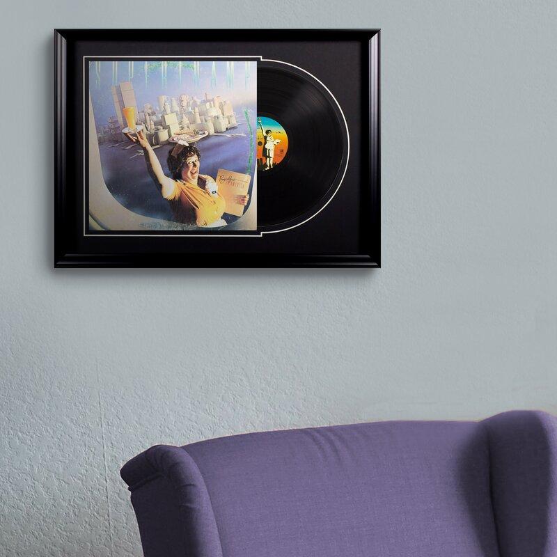 "Supertramp ""Breakfast in America"" Framed Vintage Advertisement Deluxe Album"