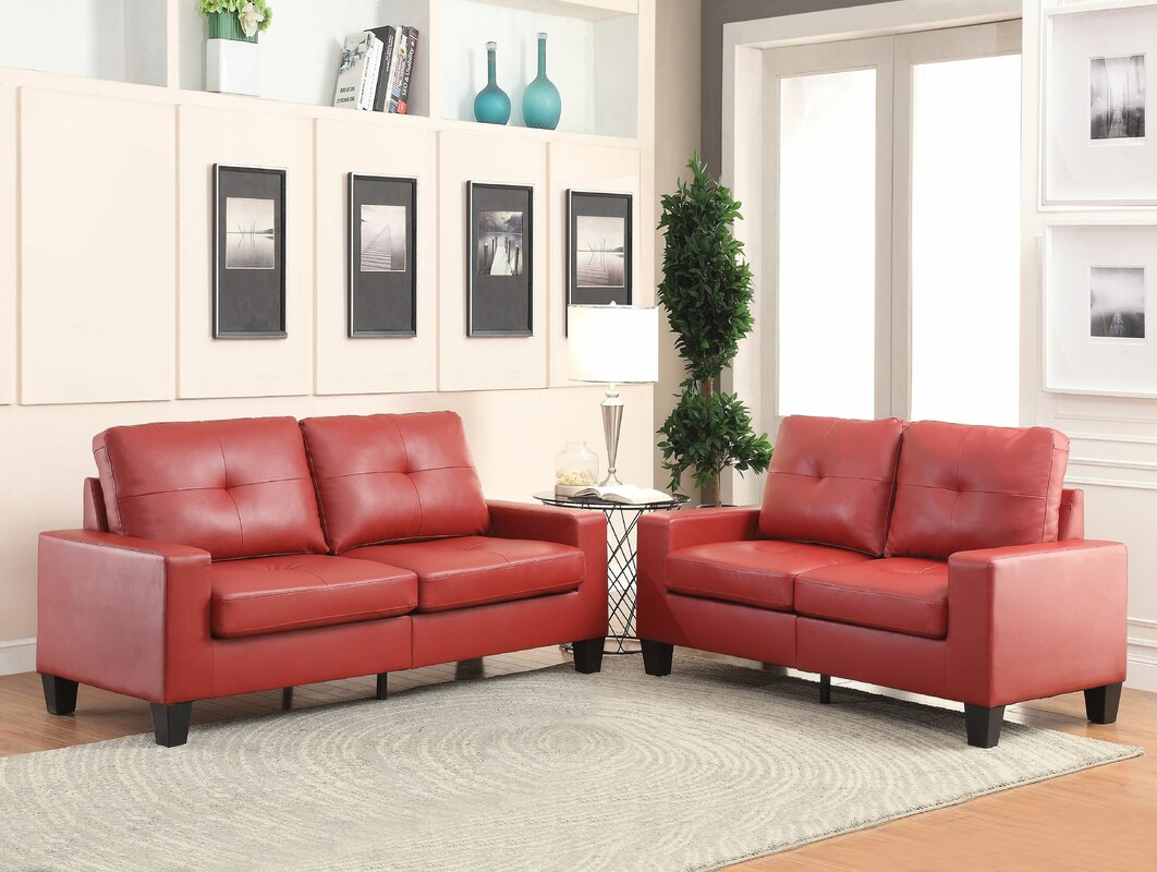 Richardo 2 Piece Living Room Set