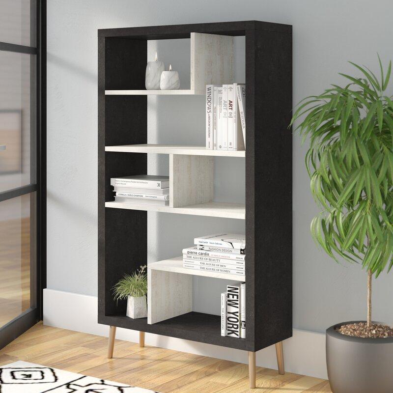 Baptista Geometric Bookcase