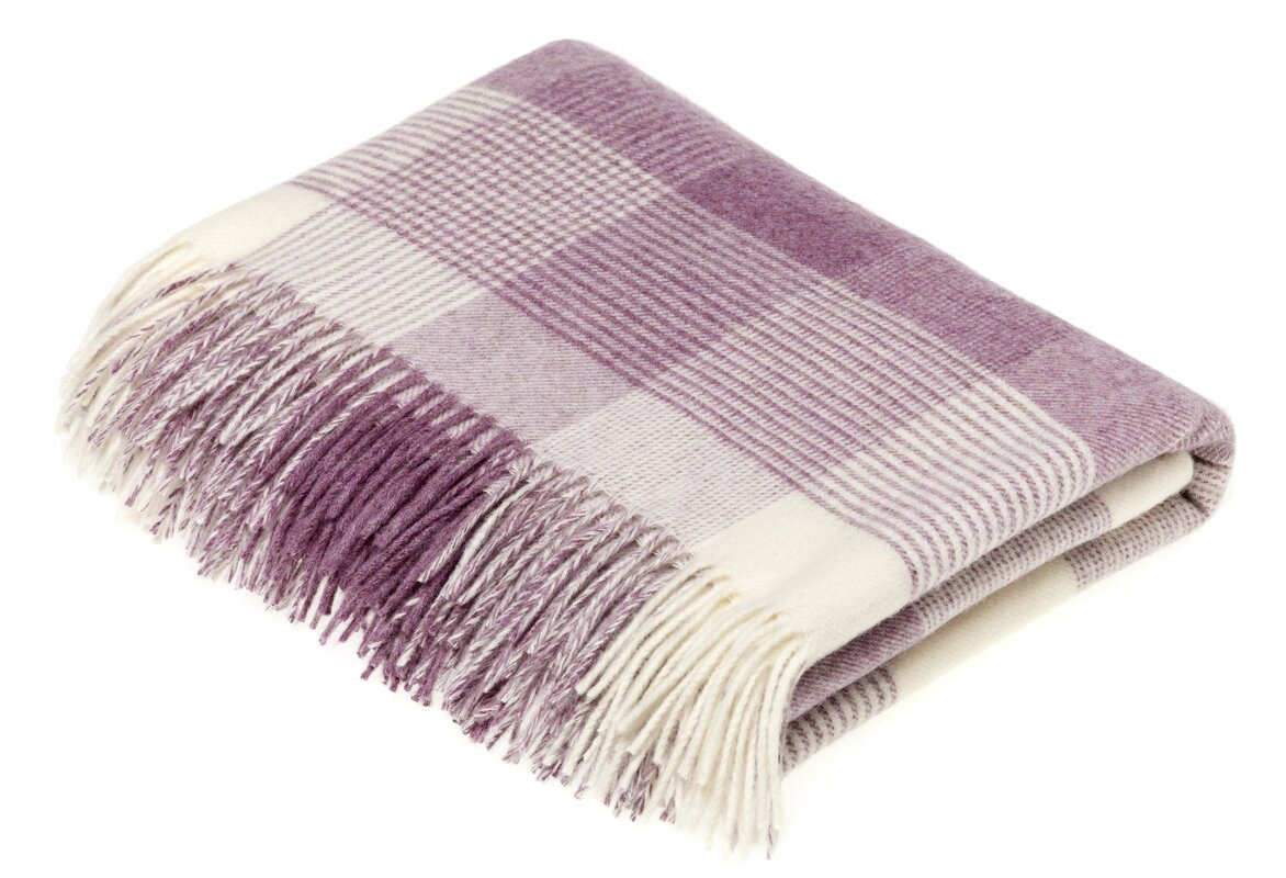 Bruning Merino Wool Throw