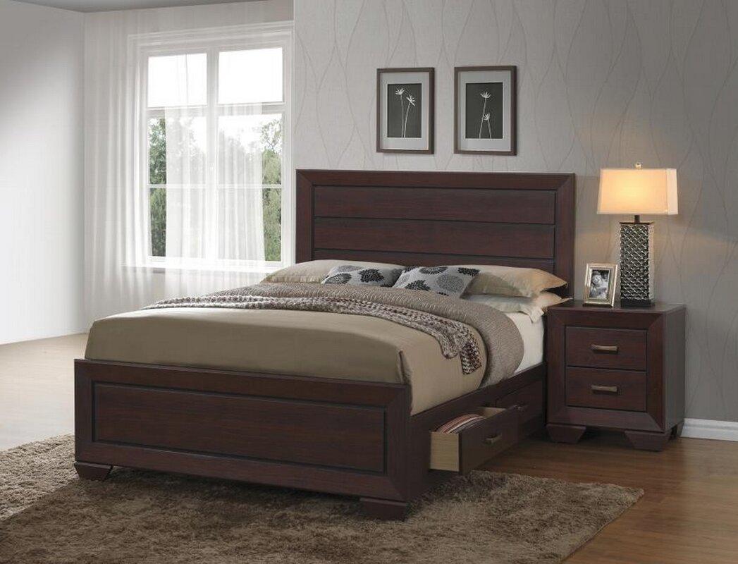 Angus Storage Panel Bed