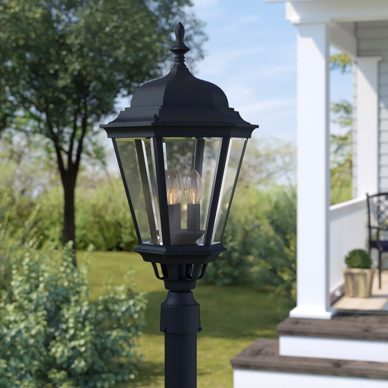 Listermann Cast Outdoor 3-Light Lantern Head