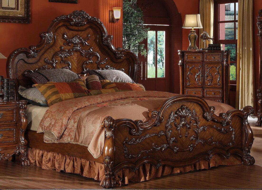 Serena Panel Bed