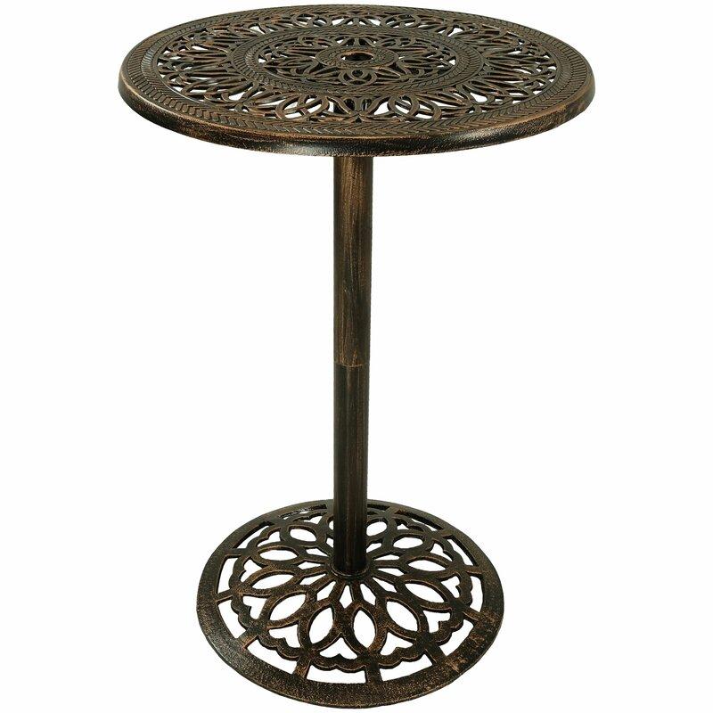 Nyla Metal Bar Table