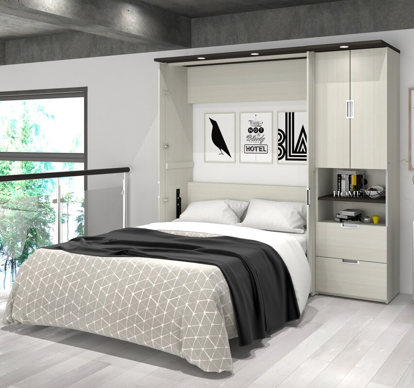 Loyalton Storage Murphy Bed
