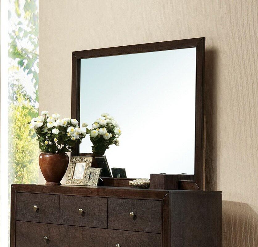 Mcnally Rectangular Dresser Mirror