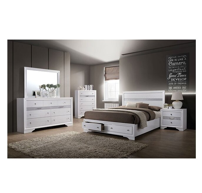 Ladson Platform Configurable Bedroom Set