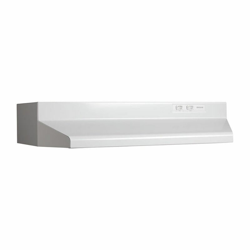 "42"" 42000 series 190 CFM Convertible Under Cabinet Range Hood"
