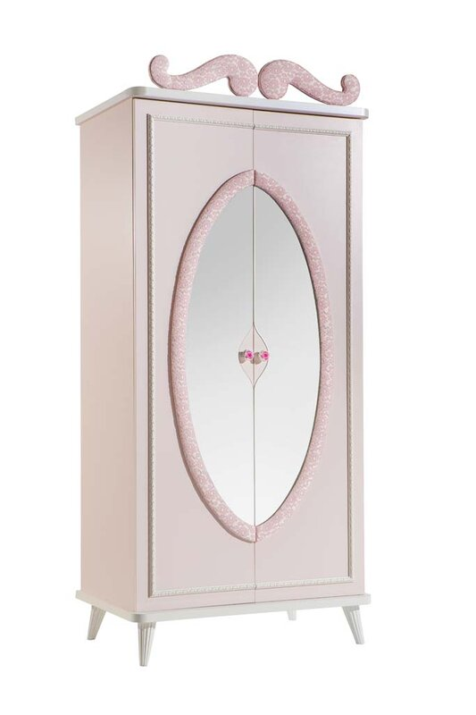 Aislinn 2 Door Wardrobe Armoire