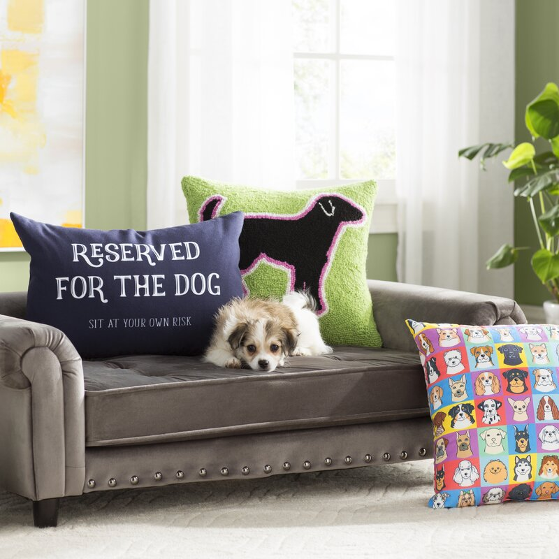 Constance Dog Sofa with Cushion