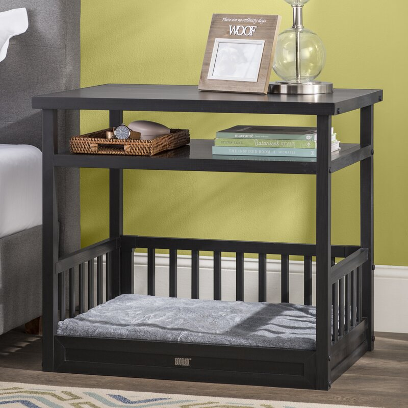 Echo Dog Bed with Nightstand and Cushion