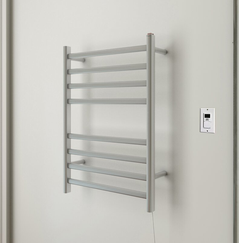 Prima Wall Mount Electric Towel Warmer with Timer