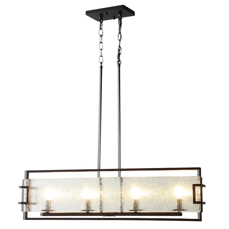 Hinton 4-Light Kitchen Island Pendant