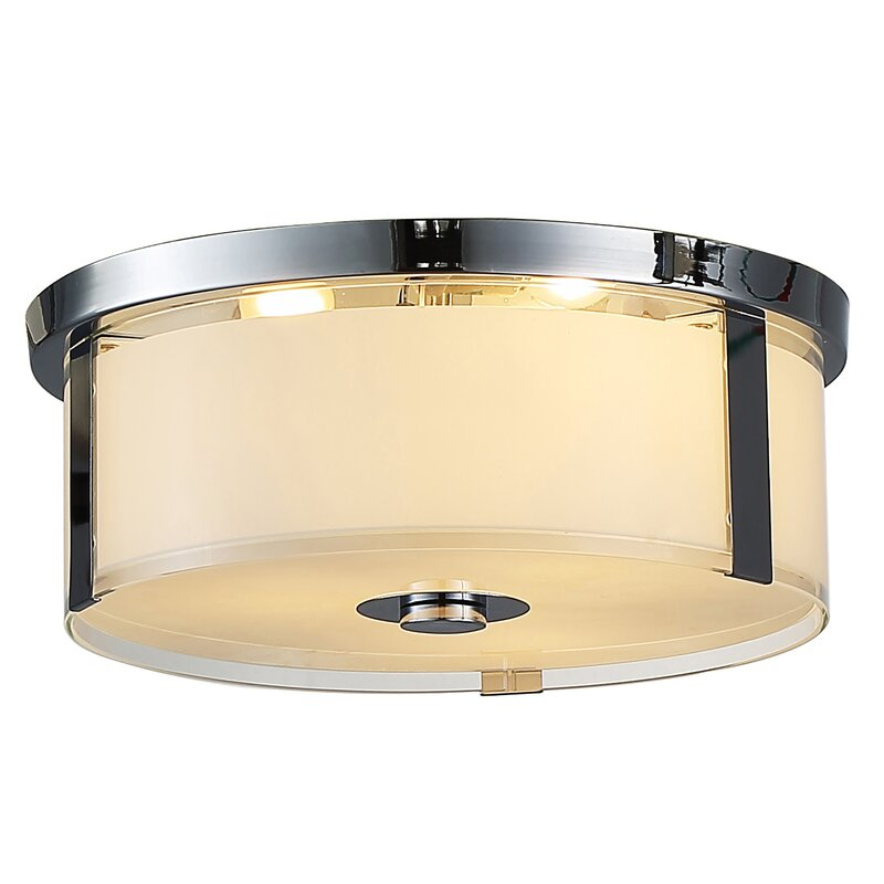 Getchell 3-Light Flush Mount