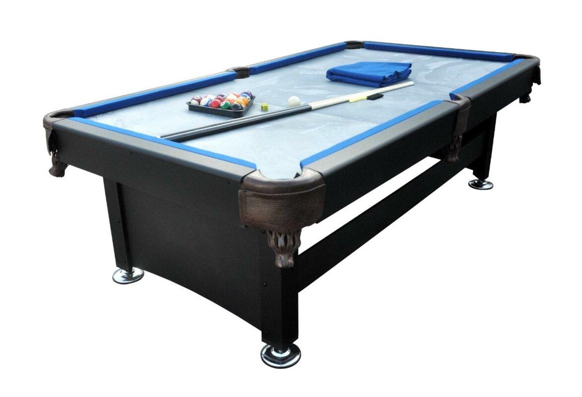 6' Slate Pool Table