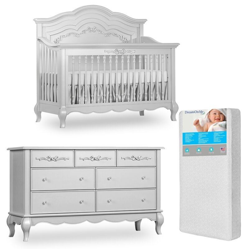 Aurora Convertible 3 Piece Nursery Furniture Set