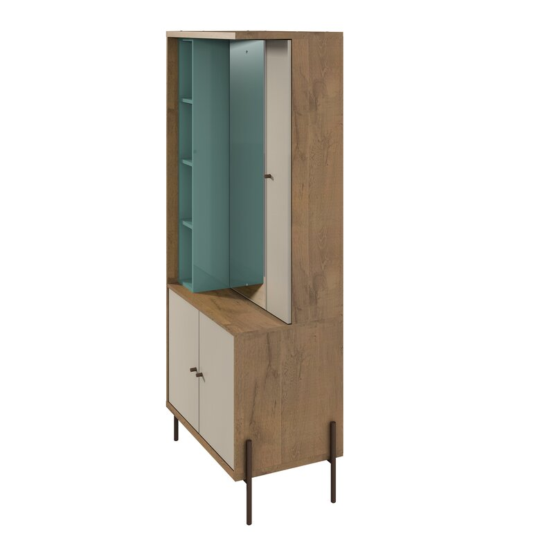 Armando Free Standing Jewelry Armoire with Mirror