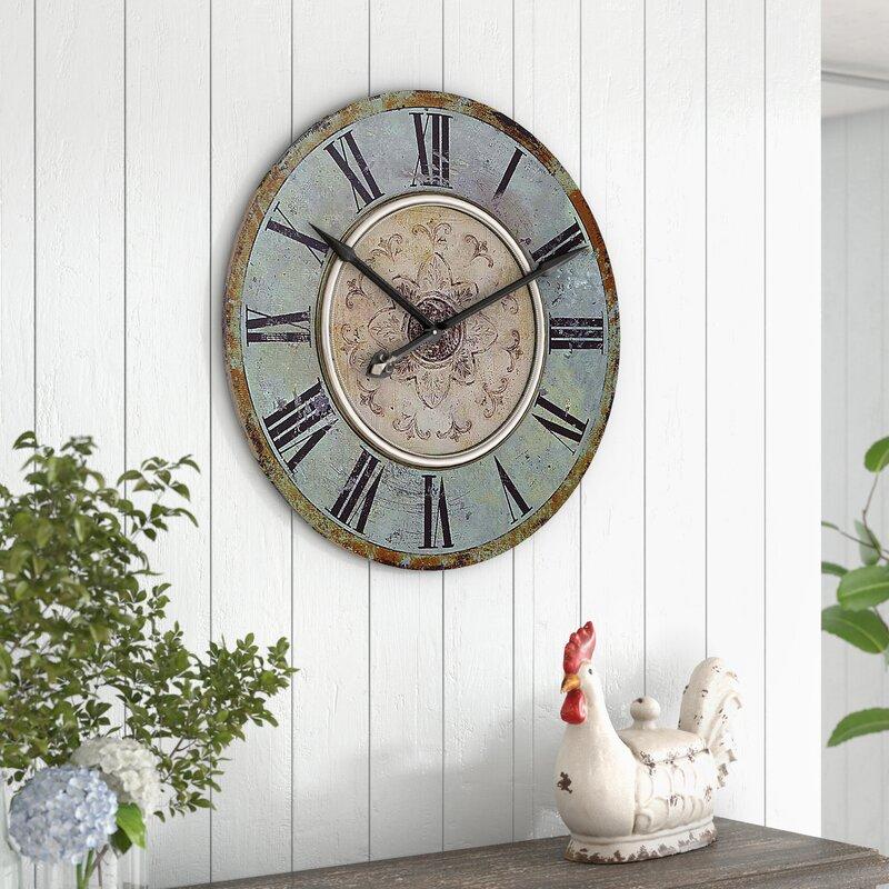 """Kenn Round 29"""" Wall Clock"""