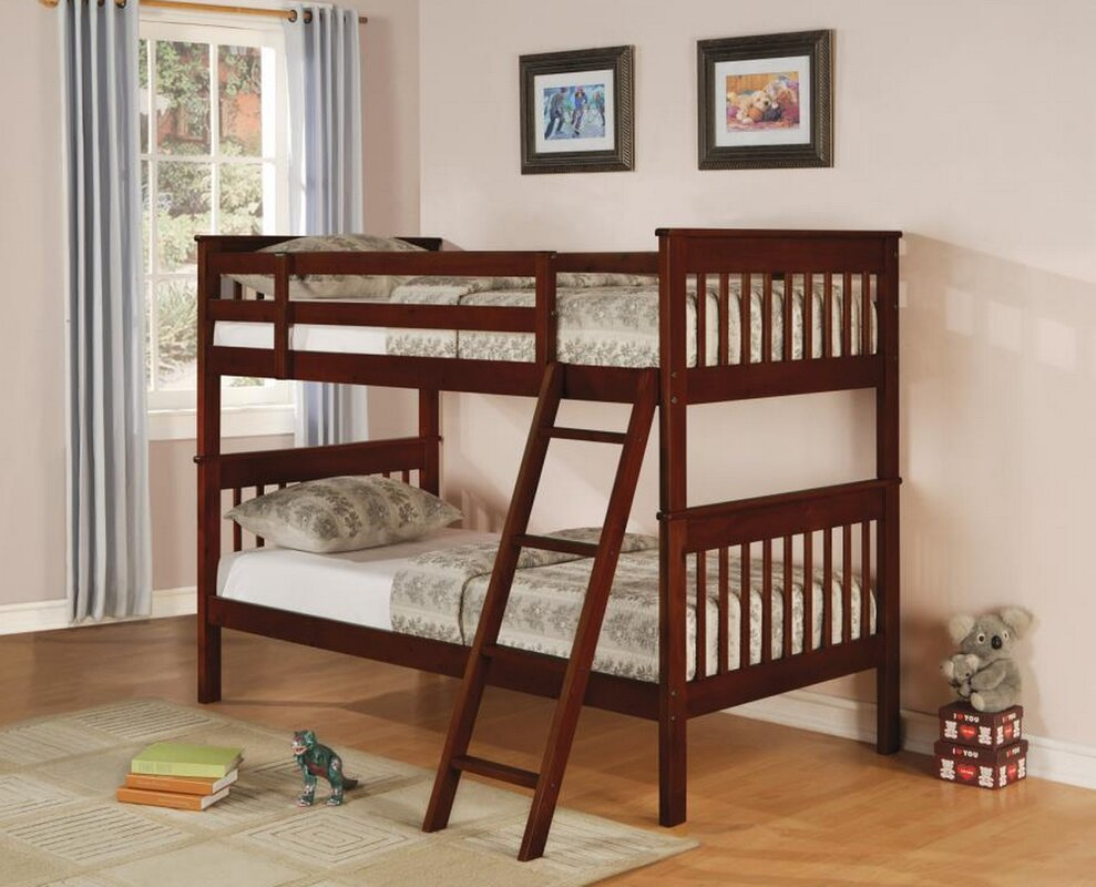 Arleta Bunk Twin over Twin Bed