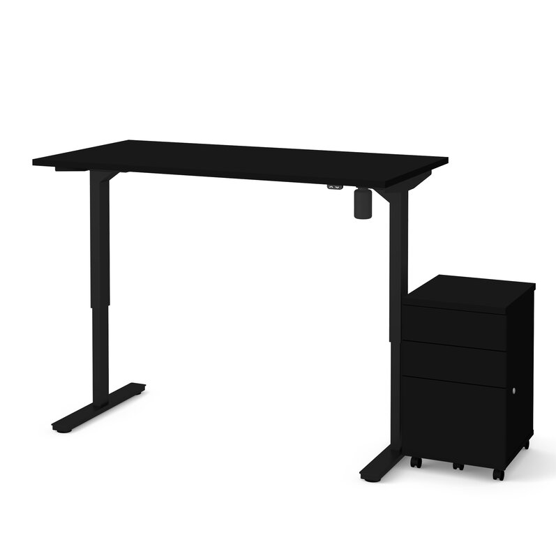 Lilian 2-Piece Electric Height Adjustable Standing Desk
