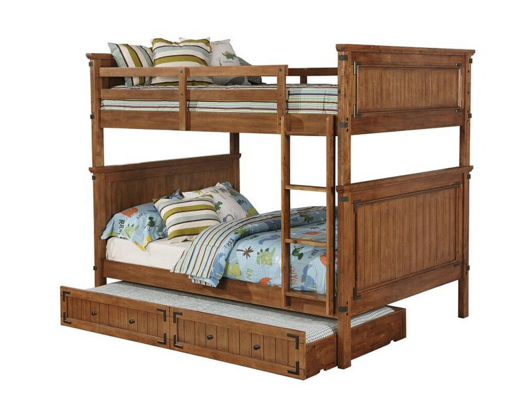 Velez Bunk Bed with Trundle