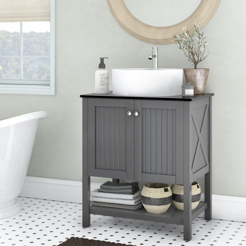 Naccarato 28'' Single Bathroom Vanity Set