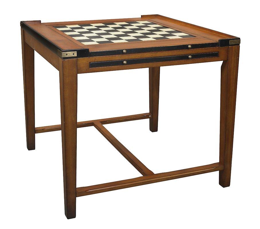 "32.5"" Chess & Backgammon Table"
