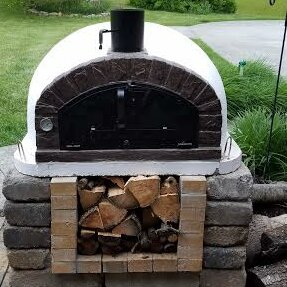 Traditional Brick Braza Wood Fire Pizza Oven