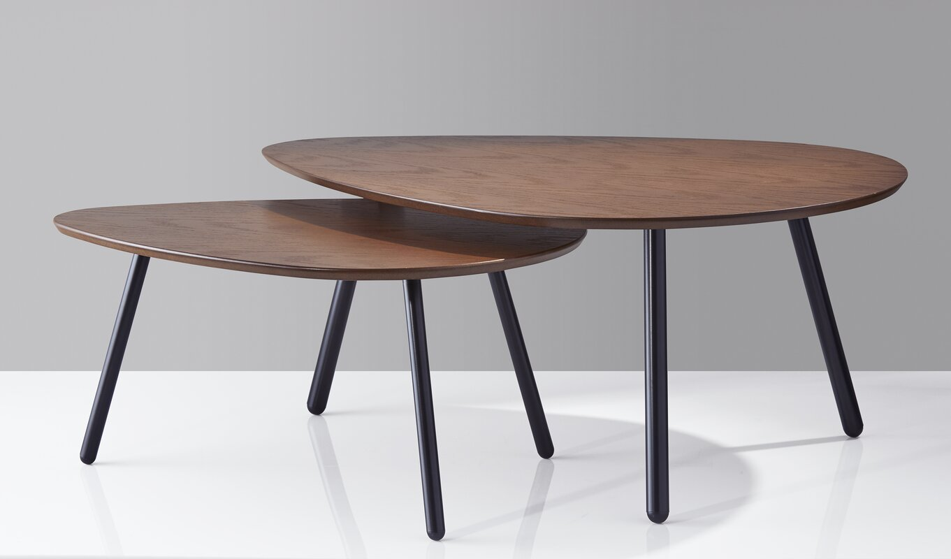 Irvin Nesting 2 Piece Coffee Table Set