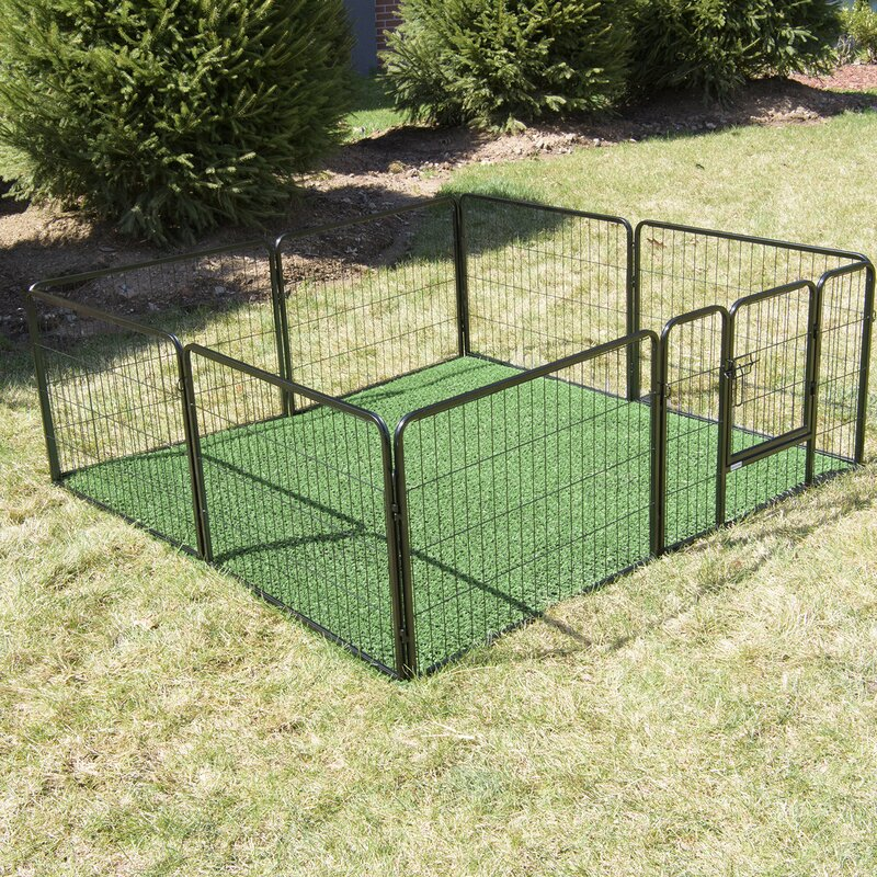 "24"" Outdoor Turf Potty Train Bathroom Pet Pen"