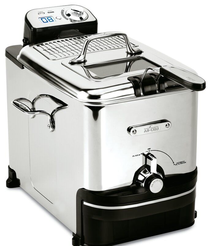 All-Clad 3.5 Liter Clean Pro Deep Fryer