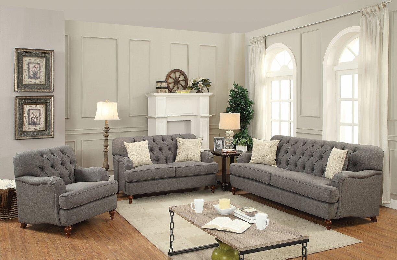 Oakes Configurable Sofa Set