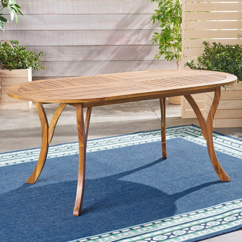 Sconset Outdoor Wooden Dining Table