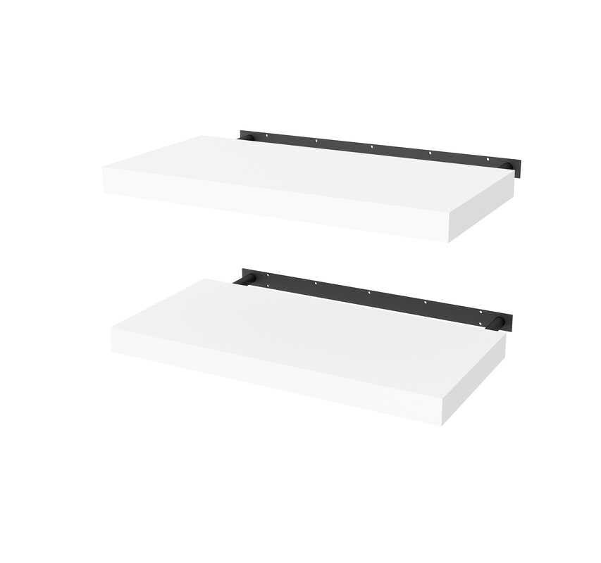 Cheney High-Quality Lightweight 2 Piece Wall Shelf Set