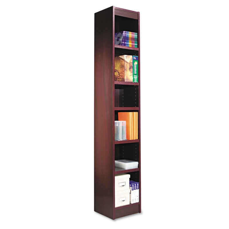 Narrow Profile Standard Cube Bookcase