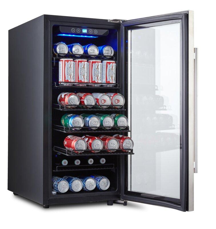 106 Can Freestanding Beverage Refrigerator