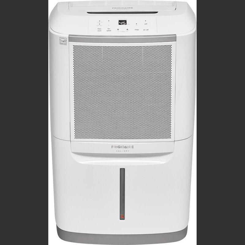 70 Pint 550 Sq. Ft. Dehumidifier with WiFi