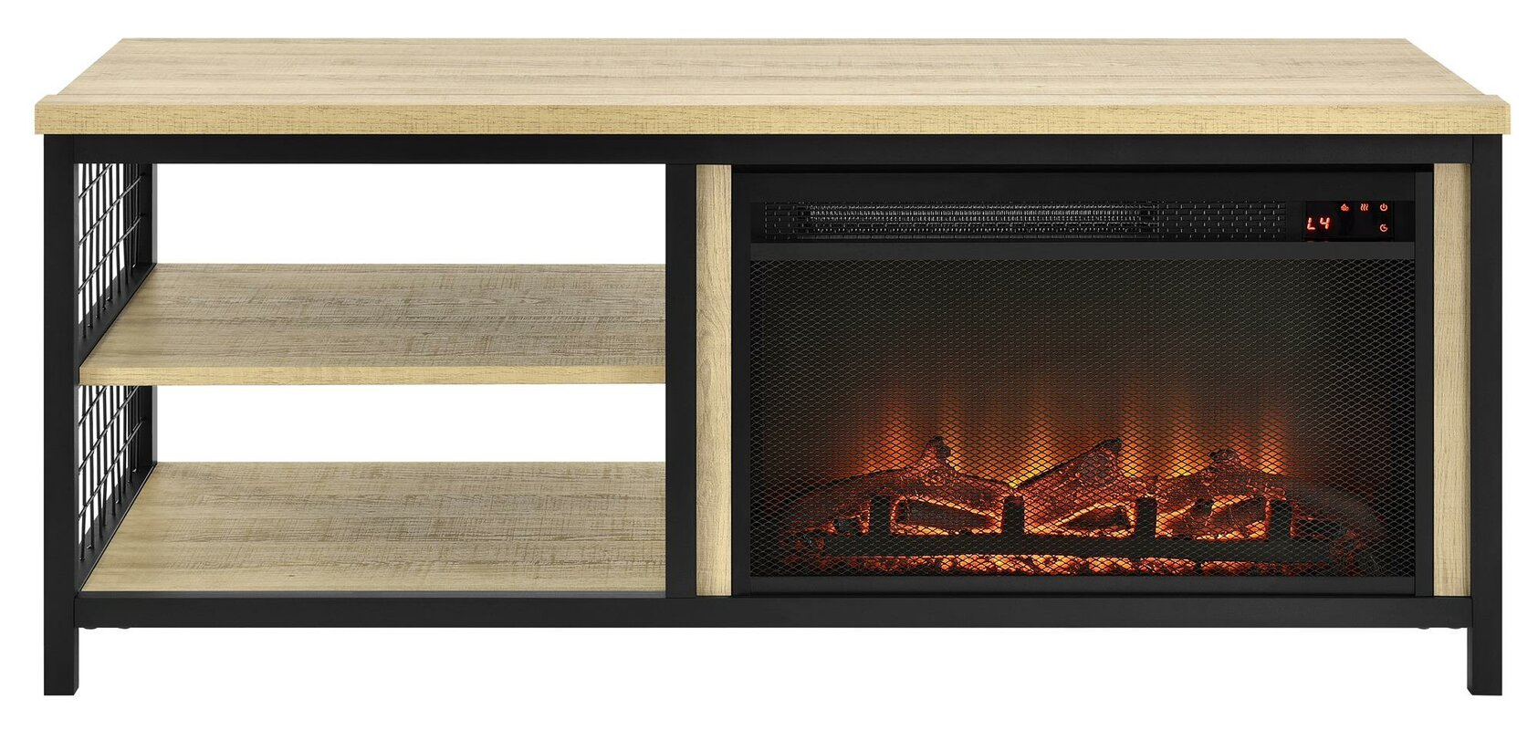 """Navarro TV Stand for TVs up to 55"""" with Fireplace"""