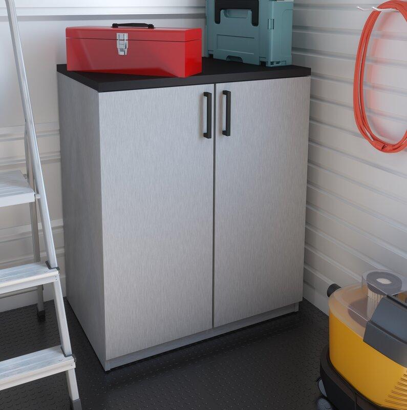 """Chavez 36"""" H x 29.5"""" W x 19.5"""" D 2 Door Storage Cabinet"""