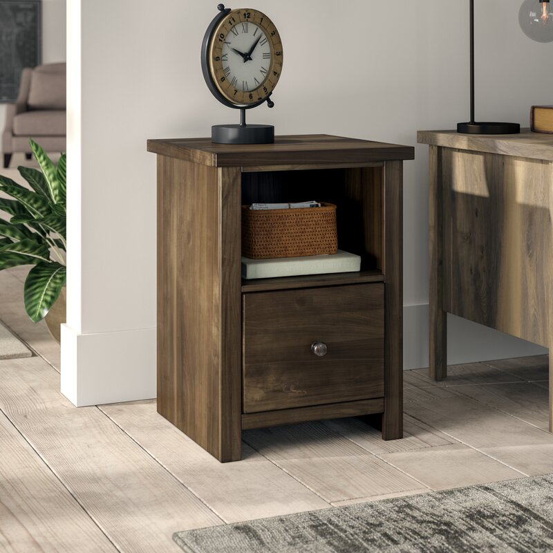 Columbia 1 Drawer Vertical Filing Cabinet