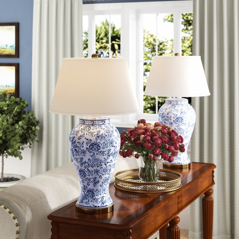 "Spring Blossom 29"" Table Lamp (Set of 2)"