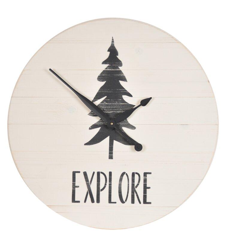 "Oversized Louie Explore 24"" Wall Clock"