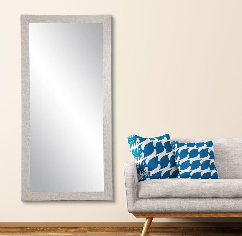 Blum Wood Grain Full Length Mirror