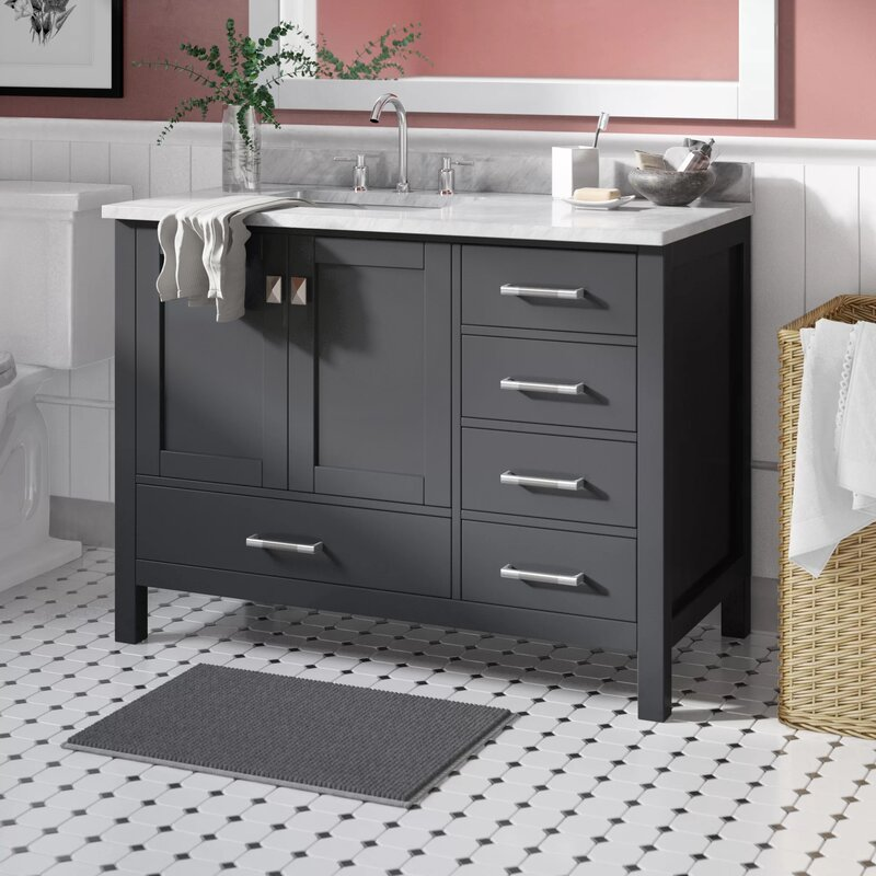 "Fritz 42"" Single Bathroom Vanity Set"
