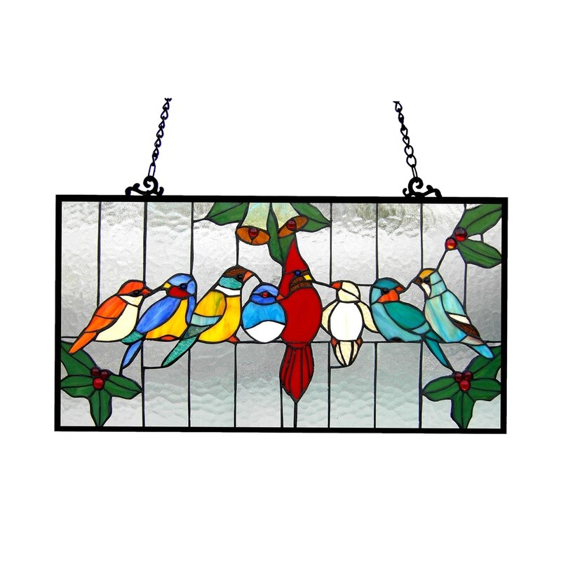 Birds Cage Window Panel