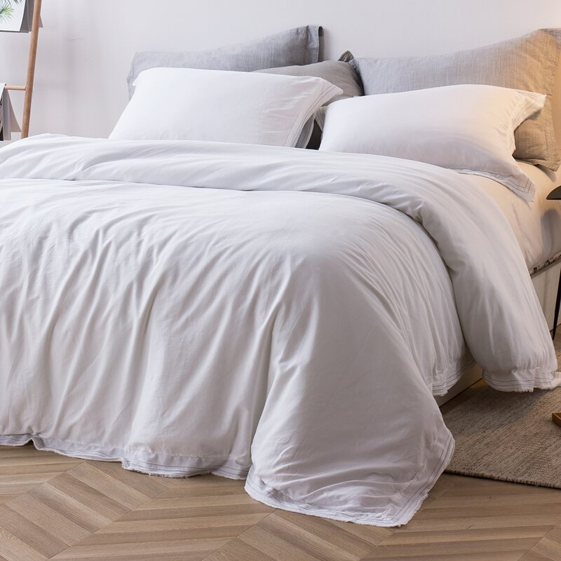 Turnbow Washed Sateen Single Duvet Cover