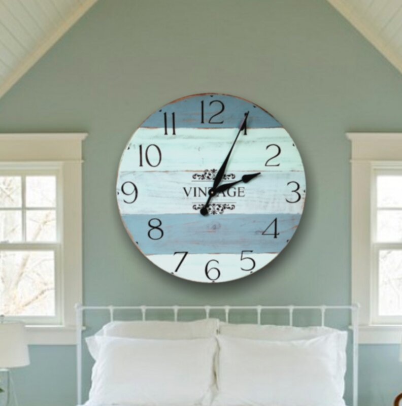 Oversized Brierley Farmhouse Wall Clock