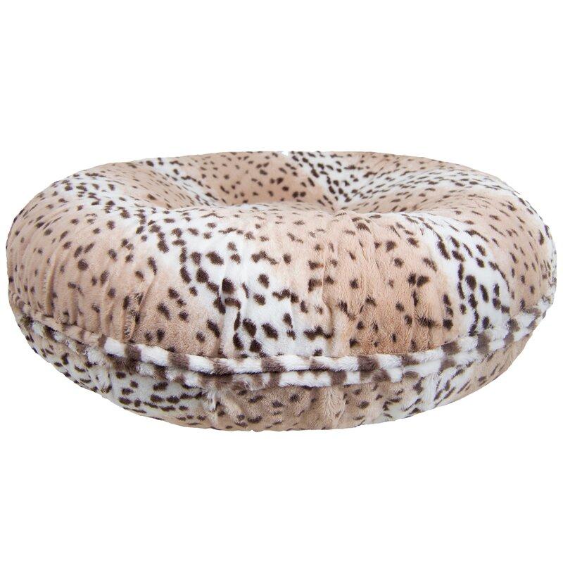 Koret Leopard Bagel Bed Pillow/Classic